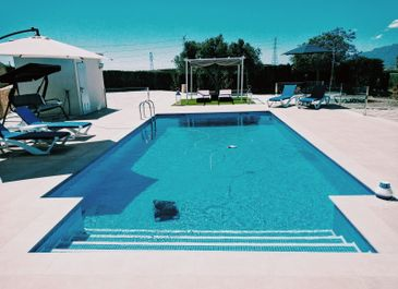 Swimming built by Almeria Builders